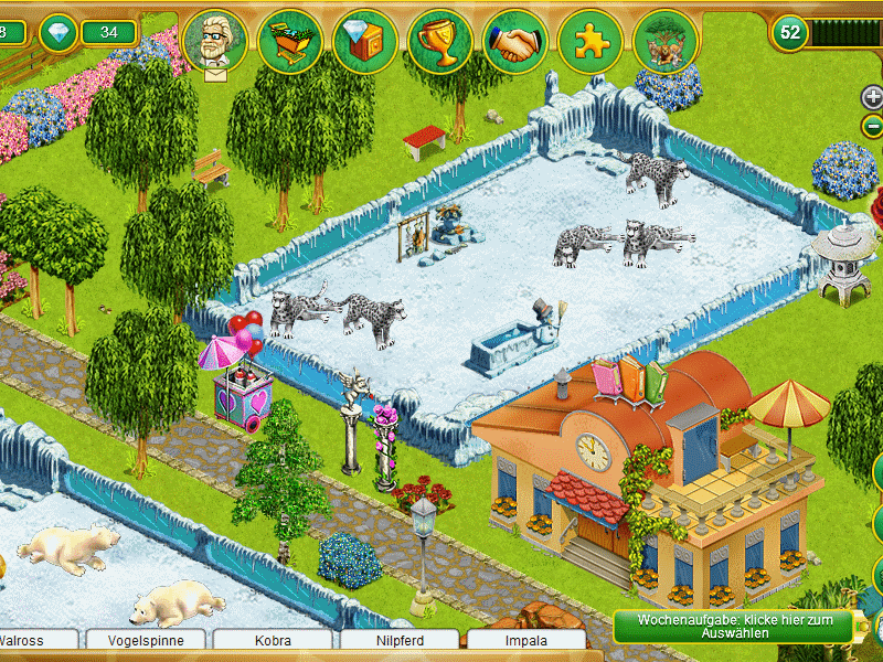 My Free Zoo Schneeleoparden My Free Zoo
