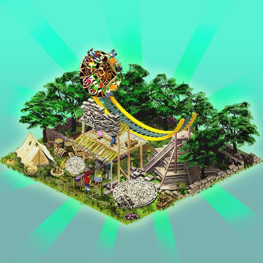 Twister deštového pralesa